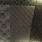 plafon berhias kain batik