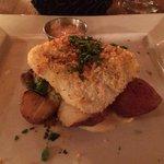 Panko crusted haddock