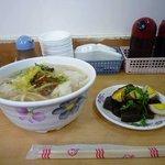 水餃子の麺とおでん風
