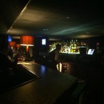 Intimate, relaxed bar scene