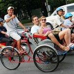 no worry hanoi cyclo experience