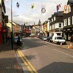 Quaint streets of Killarney surrounding the Plaza.