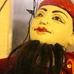 Marionettes on Display