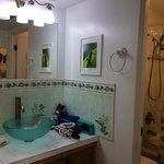 Bathroom of condo #302