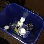 Un-emptied recycle bin