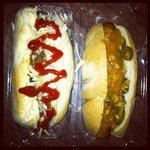 chilli dog and Spanish