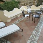 Our terrace in a special superior room (new section)
