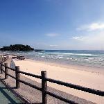 大浜への遊歩道