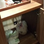 Previous occupants rubbish was in room on arrival and still there on departure