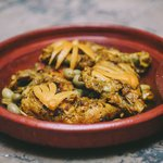 Karima's chicken and lemon tagine