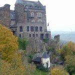 ein Teil der Burg