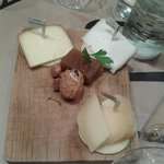 Mini tabla de quesos asturianos suaves