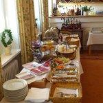 The breakfast buffet, very nice