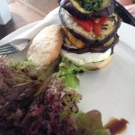 Goat cheese stack
