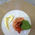 тартар из лосося (меню дегустация)