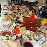 kleines Dessertbuffet