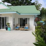 villa rim haad entrance