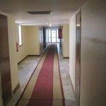 Corridor leading to my room