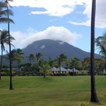 Beautiful Mt. Nevis in the background of Nisbet