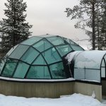 Glass igloo