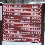 Distances, Kakslauttanen is located in a very remote area