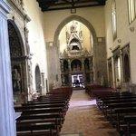 tutta la navata dalla cappella di somma