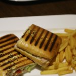 Hot Grilled Smoked Sandwich