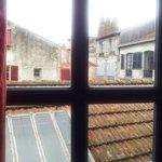 Vue sur les toits depuis la chambre 3...
