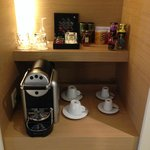 Coffee selection & Nespresso coffee machine