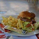 Hamburger au Snack Bar excellent