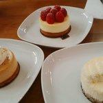 Nos 3 cheesecakes