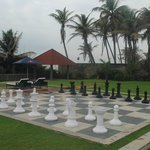 The huge chess board