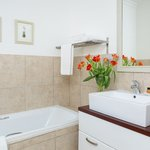 Bathrooms with bath and shower