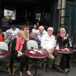 Sidewalk Table at Relais Odeon