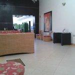 El lobby muy comodo.