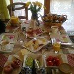 Buffet colazione giorno1
