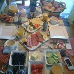 Buffet colazione giorno2