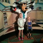 Picture of Goofy when you walk in