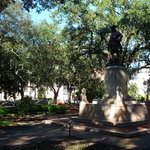 There are 23 squares throughout Savannah, each providing some relief from the sun and the heat.