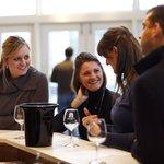 Arcady Vineyard Wine Tour guests enjoy Pollak Vineyards
