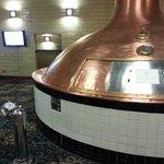 Brew kettle on 2n floor