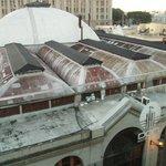 Le fameux et unique Mercado del Puerto depuis le rooftop