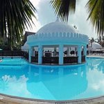 Swimming Pool and Bar Panorama