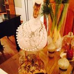 fancy goose in the bar