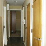 hallway from entry door