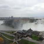 View of the falls from our room