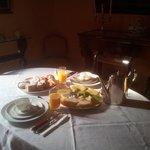 la colazione principesca