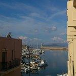 Hafen von Chania (Aussicht vom Balkon)
