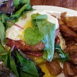 Bad A** BLT with an Egg