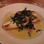 Plaice with Samphire & A Brown Shrimp Butter